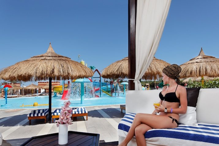 Aqua Blu Resort, Sharm el Sheikh: beach bar