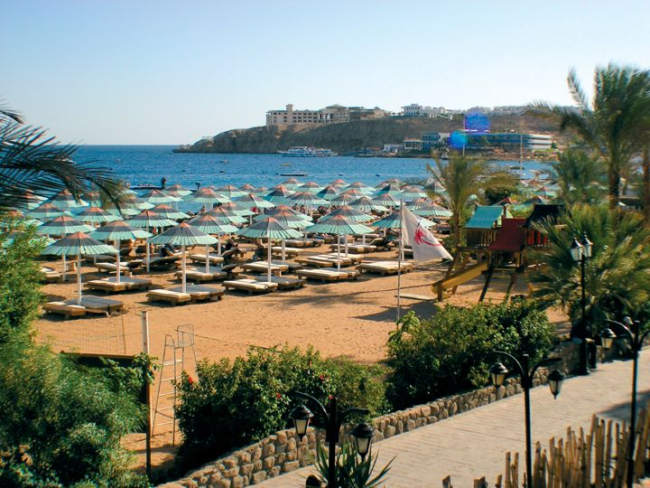Ghazala Beach Hotel - private beach