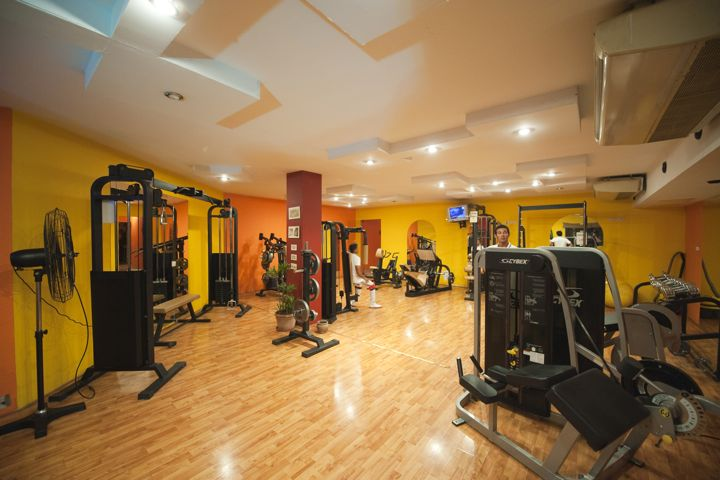 Ghazala Beach Hotel - fitness centre