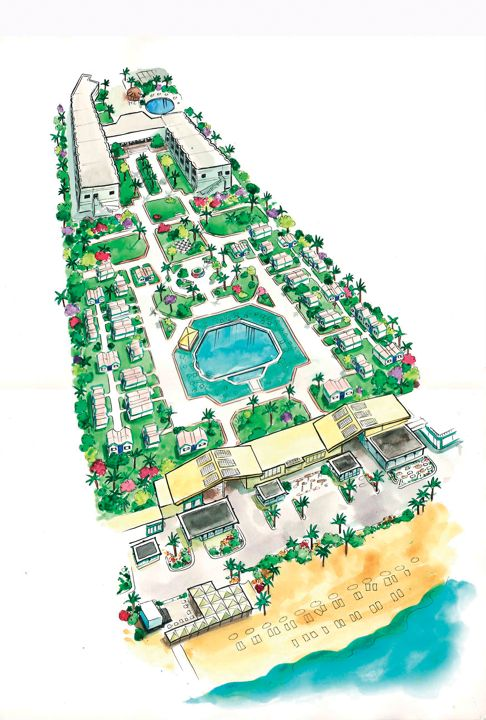 Ghazala Beach Hotel - map view