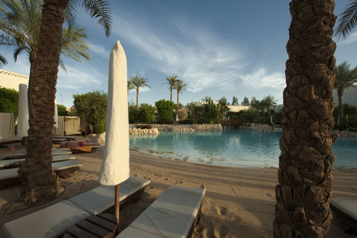 Ghazala Gardens Hotel - pool with artificial beach