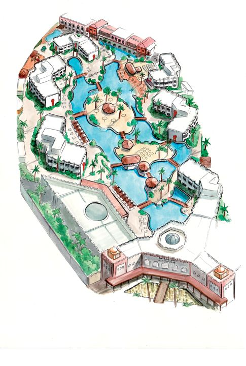 Ghazala Gardens Hotel - map view
