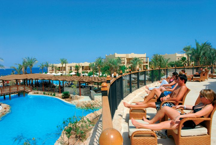 The Grand Hotel Sharm el Sheikh - sun terrace