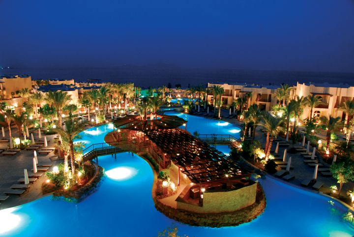 The Grand Hotel Sharm el Sheikh - by night