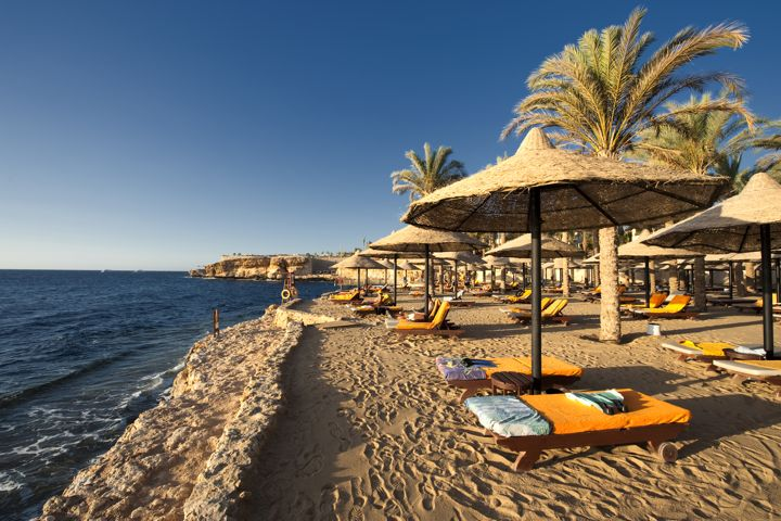The Grand Hotel Sharm el Sheikh - private beach