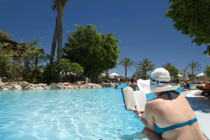 The Grand Hotel Sharm el Sheikh - relaxing by the pool