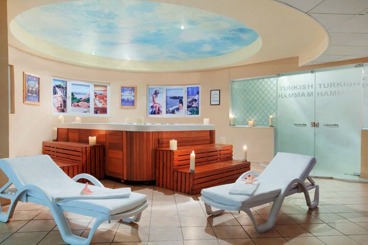 Hilton Long Beach Resort - hammam (steam room)