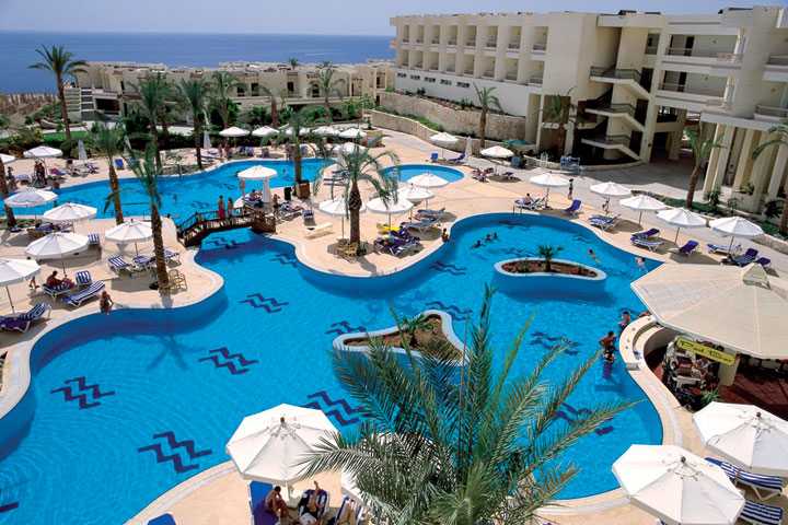 Hilton Sharks Bay Resort, Sharm el Sheikh - swimming pool