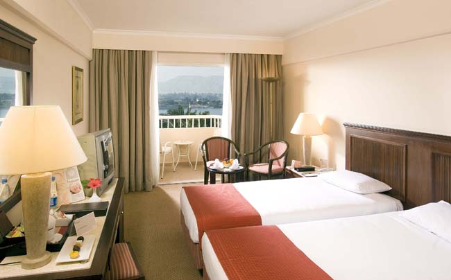 Iberotel Luxor Hotel - superior room, twin beds, Nile View