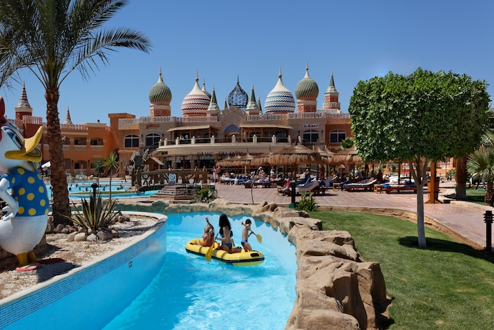 Aqua Blu Resort, Sharm el Sheikh: children's pool bar