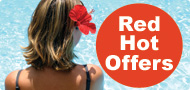 Red Hot Offers from your local airport