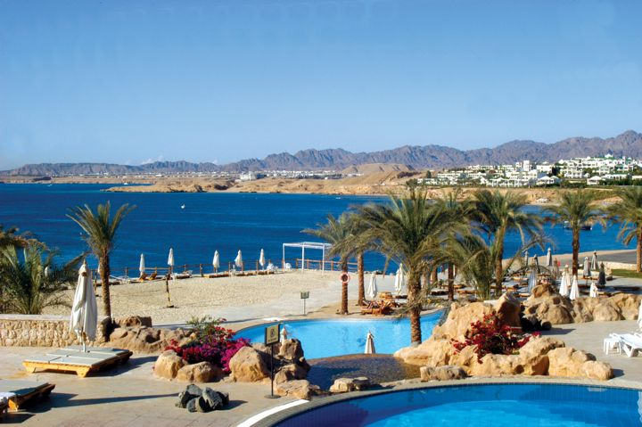 Sharm Plaza - view across the bay