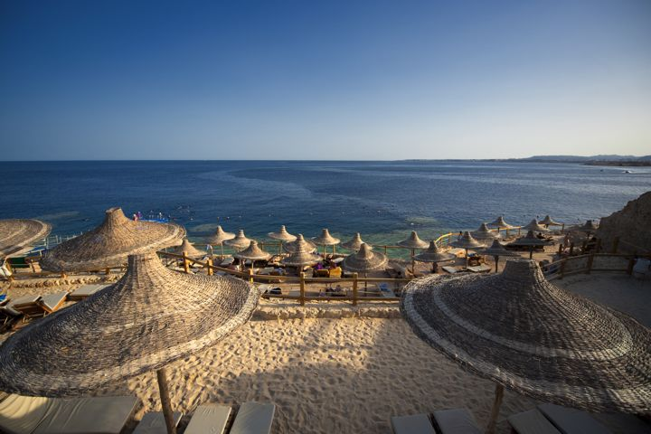 Sharm Plaza - terraced beach