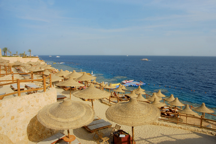Sharm Resort Hotel - beach terrace