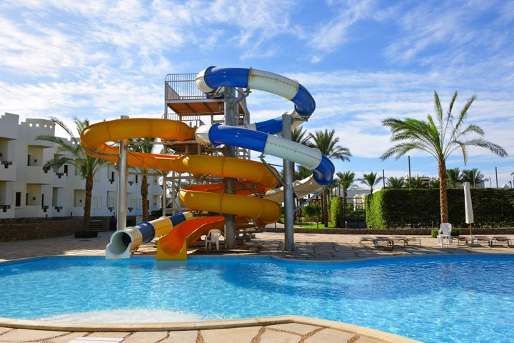 Sharm Resort - waterslide