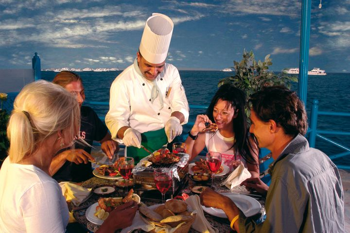 The Grand Hotel, Hurghada - fine dining
