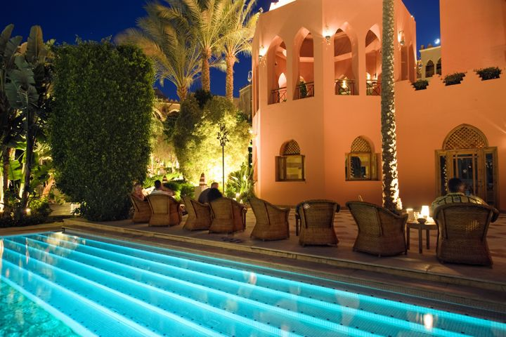 The Makadi Palace Hotel - poolside