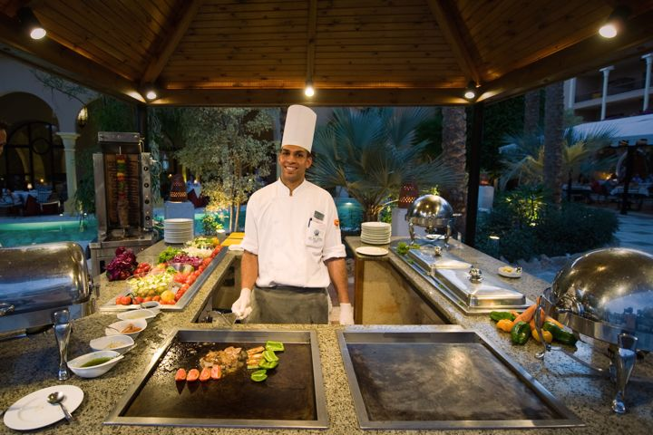 The Makadi Palace Hotel - live cooking