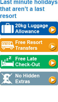 No Hidden Extras: 20kg baggage allowance, in-flight meals and resort transfer are always included.