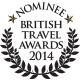 British Travel Awards 2013 - Nominee