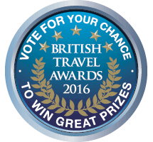 Vote for us in the British Travel Awards