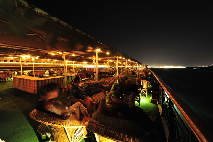 MS Grand Rose - the Nile by night
