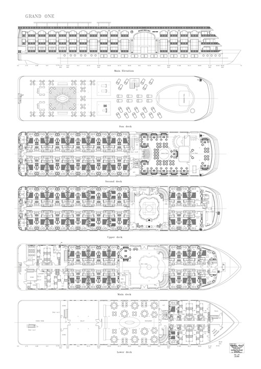 MS Grand Rose - deck plan