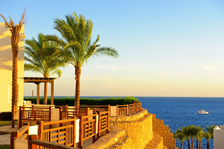 Sharm Resort - sun terrace