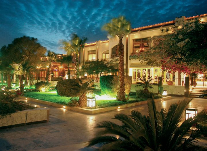 The Grand Hotel, Hurghada - by night