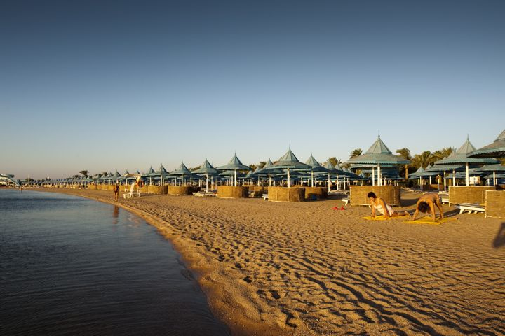 The Grand Hotel, Hurghada - private beach