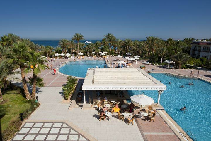 The Grand Hotel, Hurghada - swimming pool