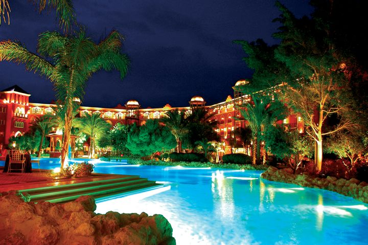 The Grand Resort by night