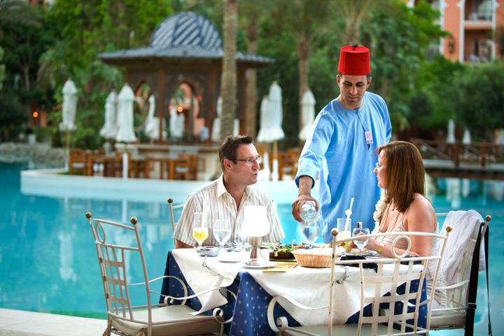 The Grand Resort - table service