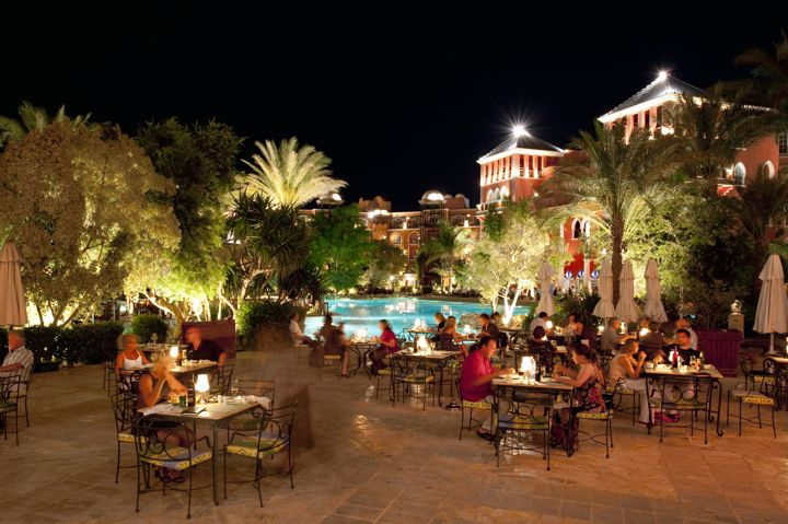 The Grand Resort - terrace dining