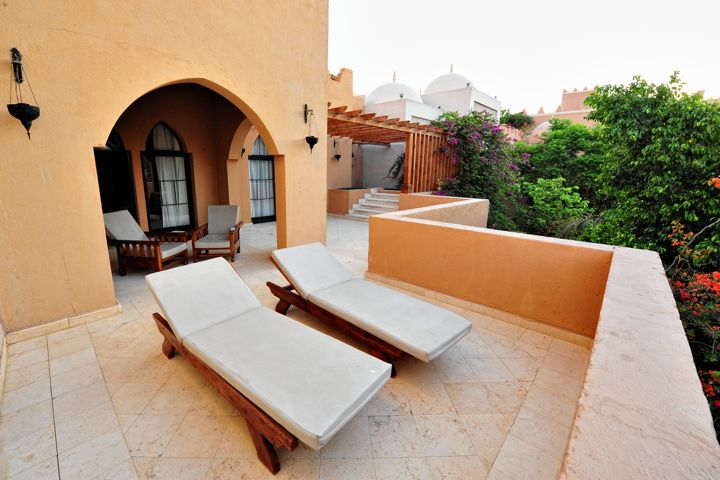 The Makadi Palace Hotel - suite terrace
