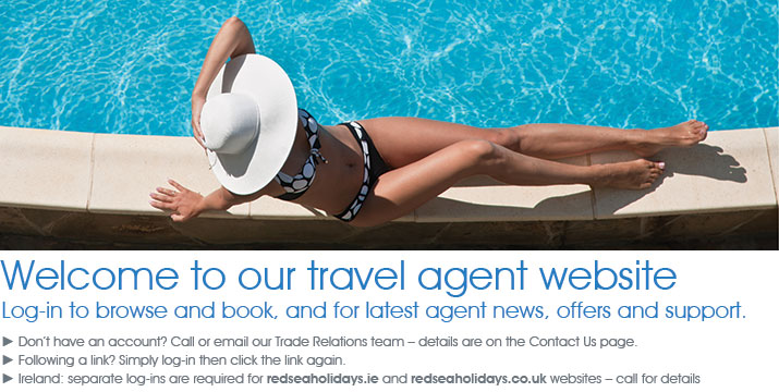 travel agent login image